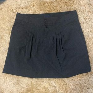 GAP Gray Pleated Skirt Size 10